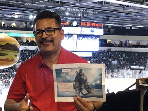 Rick Gonzalez attended Texas Stars vs. Rockford Icehogs - Game One- Western Conference Finals - AHL on May 18th 2018 via VetTix
