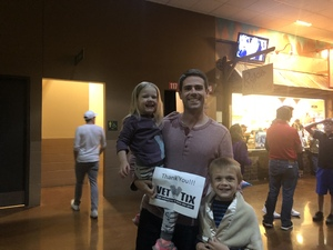 Grant attended Texas Stars vs. Rockford Icehogs - Game One- Western Conference Finals - AHL on May 18th 2018 via VetTix