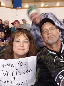 Donald attended Texas Stars vs. Rockford Icehogs - Game Two - Western Conference Finals - AHL on May 20th 2018 via VetTix