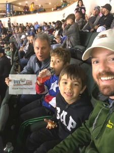 Jim Sepulveda attended Texas Stars vs. Rockford Icehogs - Game Two - Western Conference Finals - AHL on May 20th 2018 via VetTix