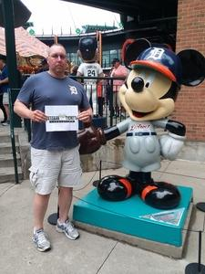 Steve attended Detroit Tigers vs. Cleveland Indians - MLB on Jun 10th 2018 via VetTix