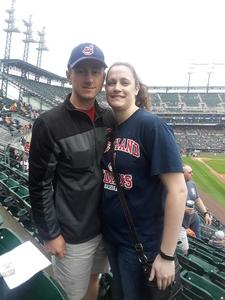 John attended Detroit Tigers vs. Cleveland Indians - MLB on Jun 10th 2018 via VetTix