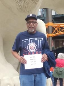Wilborn attended Detroit Tigers vs. Cleveland Indians - MLB on Jun 10th 2018 via VetTix