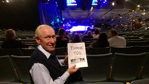 Peter attended The Oak Ridge Boys Live on May 17th 2018 via VetTix