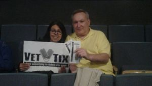 Bill & Mery attended The Oak Ridge Boys Live on May 17th 2018 via VetTix