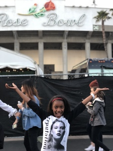 Crystal attended Taylor Swift Reputation Stadium Tour on May 18th 2018 via VetTix