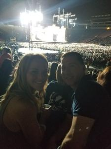 Ronald attended Taylor Swift Reputation Stadium Tour on May 18th 2018 via VetTix