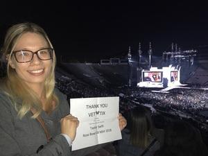 Stephen attended Taylor Swift Reputation Stadium Tour on May 18th 2018 via VetTix