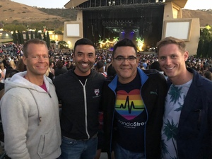 Michael attended The Adventures of Kesha and Macklemore on Jun 12th 2018 via VetTix