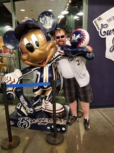 Charles attended Milwaukee Brewers vs. Philadelphia Phillies - MLB on Jun 15th 2018 via VetTix
