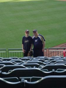Dennis attended Milwaukee Brewers vs. Philadelphia Phillies - MLB on Jun 15th 2018 via VetTix