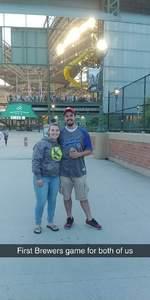 Daniel attended Milwaukee Brewers vs. Philadelphia Phillies - MLB on Jun 15th 2018 via VetTix
