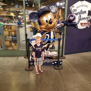 Michael attended Milwaukee Brewers vs. Philadelphia Phillies - MLB on Jun 15th 2018 via VetTix