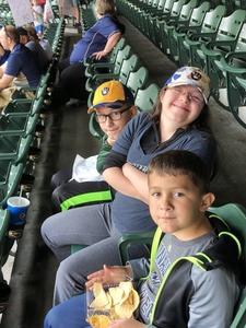 Tony attended Milwaukee Brewers vs. Philadelphia Phillies - MLB on Jun 15th 2018 via VetTix