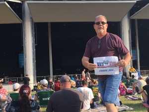Russ attended Poison With Special Guests Cheap Trick and Pop Evil - Lawn Seats on Jun 2nd 2018 via VetTix