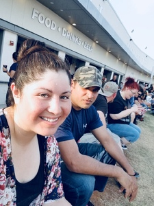 Mariela attended Poison With Special Guests Cheap Trick and Pop Evil - Lawn Seats on Jun 2nd 2018 via VetTix
