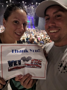 Ray attended Poison With Special Guests Cheap Trick and Pop Evil - Lawn Seats on Jun 2nd 2018 via VetTix