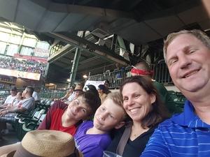 Brian attended Milwaukee Brewers vs. Atlanta Braves - MLB on Jul 5th 2018 via VetTix