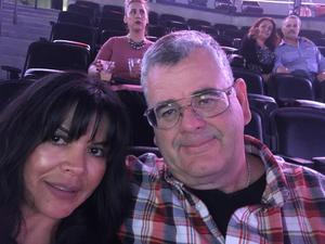 Jimmy attended Luis Miguel Live at the Pepsi Center on May 20th 2018 via VetTix