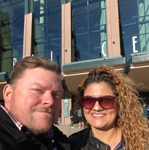 Charles attended Luis Miguel Live at the Pepsi Center on May 20th 2018 via VetTix