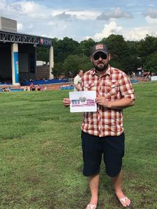 Nicholas attended Outlaw Music Festival on May 25th 2020 via VetTix