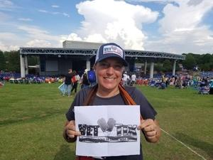 Jacque attended Outlaw Music Festival on May 25th 2020 via VetTix