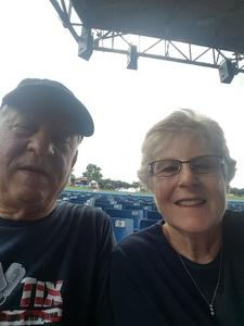 franklin attended Outlaw Music Festival on May 25th 2020 via VetTix