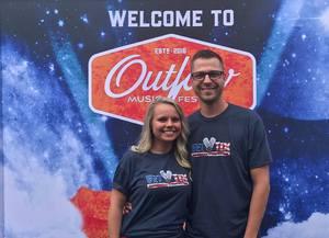 Cody attended Outlaw Music Festival on Jun 20th 2018 via VetTix