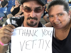 Angela attended STYX / Joan Jett & the Blackhearts With Special Guests Tesla on Jun 17th 2018 via VetTix