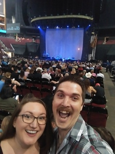 Zachary attended Sugarland on May 31st 2018 via VetTix