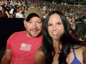 Tristan attended Sugarland on May 31st 2018 via VetTix
