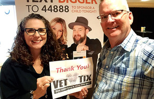 Gary attended Sugarland on May 31st 2018 via VetTix