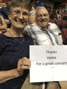 Lawrence attended Sugarland on May 31st 2018 via VetTix