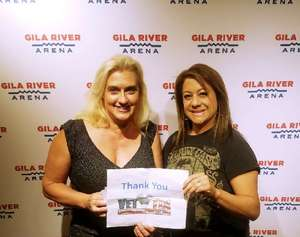 Annette attended Sugarland on May 31st 2018 via VetTix