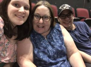 Cameron attended Sugarland on May 31st 2018 via VetTix