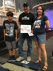 Abelardo attended Sugarland on May 31st 2018 via VetTix