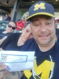 GILES attended Round Rock Express vs. Nashville Sounds - MiLB on May 30th 2018 via VetTix