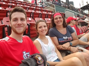 Jennifer attended St Louis Cardinals vs. Washington Nationals - MLB on Aug 14th 2018 via VetTix