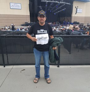 Eric attended Lynyrd Skynyrd - Last of the Street Survivors Farewell Tour on May 26th 2018 via VetTix