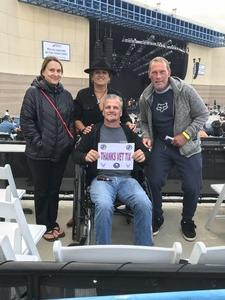 Dawn Price attended Lynyrd Skynyrd - Last of the Street Survivors Farewell Tour on May 26th 2018 via VetTix