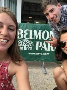 Art attended The 150th Belmont Stakes on Jun 9th 2018 via VetTix