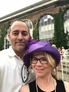 Andrew attended The 150th Belmont Stakes on Jun 9th 2018 via VetTix