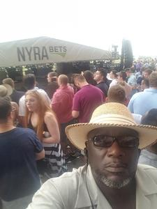 Rudolph attended The 150th Belmont Stakes on Jun 9th 2018 via VetTix