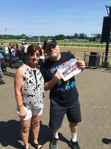 Robert attended The 150th Belmont Stakes on Jun 9th 2018 via VetTix