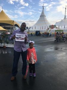 Mario attended Cirque Du Soleil Performs Luzia on May 22nd 2018 via VetTix