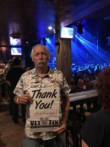 Richard attended American Eagles USA (Tribute to The Eagles) - 18+ Show on Jun 22nd 2018 via VetTix