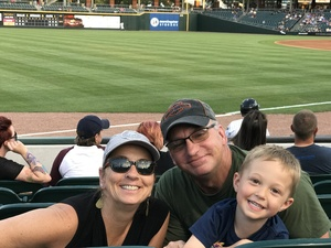John attended Charlotte Knights vs. Syracuse Chiefs - MiLB on Jun 6th 2018 via VetTix