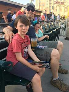 Patrick attended Charlotte Knights vs. Syracuse Chiefs - MiLB on Jun 6th 2018 via VetTix