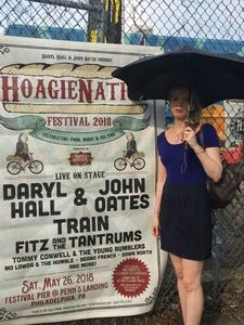 Charles attended Daryl Hall & John Oates Present Hoagienation on May 26th 2018 via VetTix