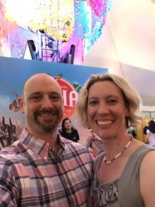 Ryan attended Luzia by Cirque Du Soleil on May 25th 2018 via VetTix